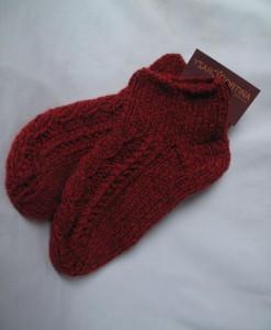 living room socks red