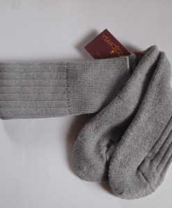 75% wool merino socks