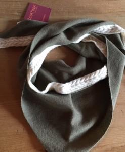 sciarpa cashmere triangolo